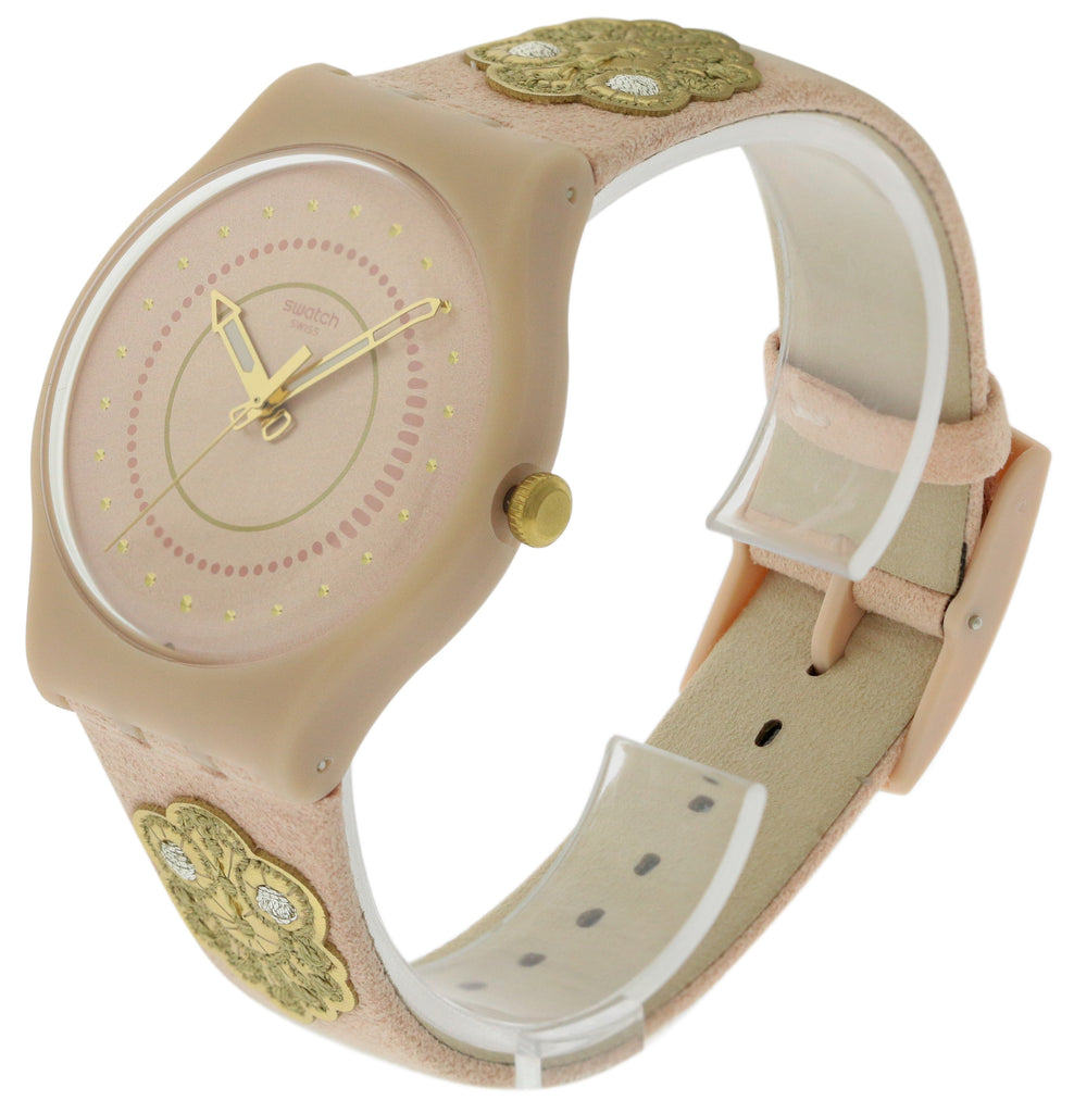 Swatch Embroidery Ladies Watch