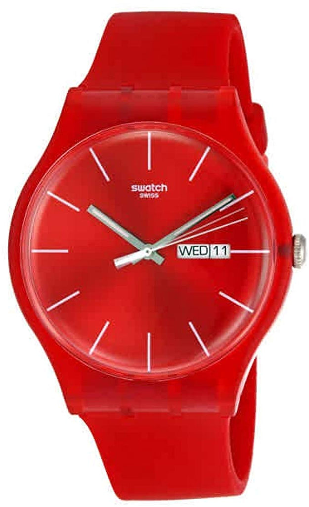 Swatch 'Red Rebel' Watch
