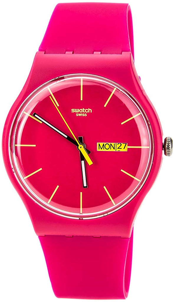 Swatch Rubine Rebel Ladies Watch