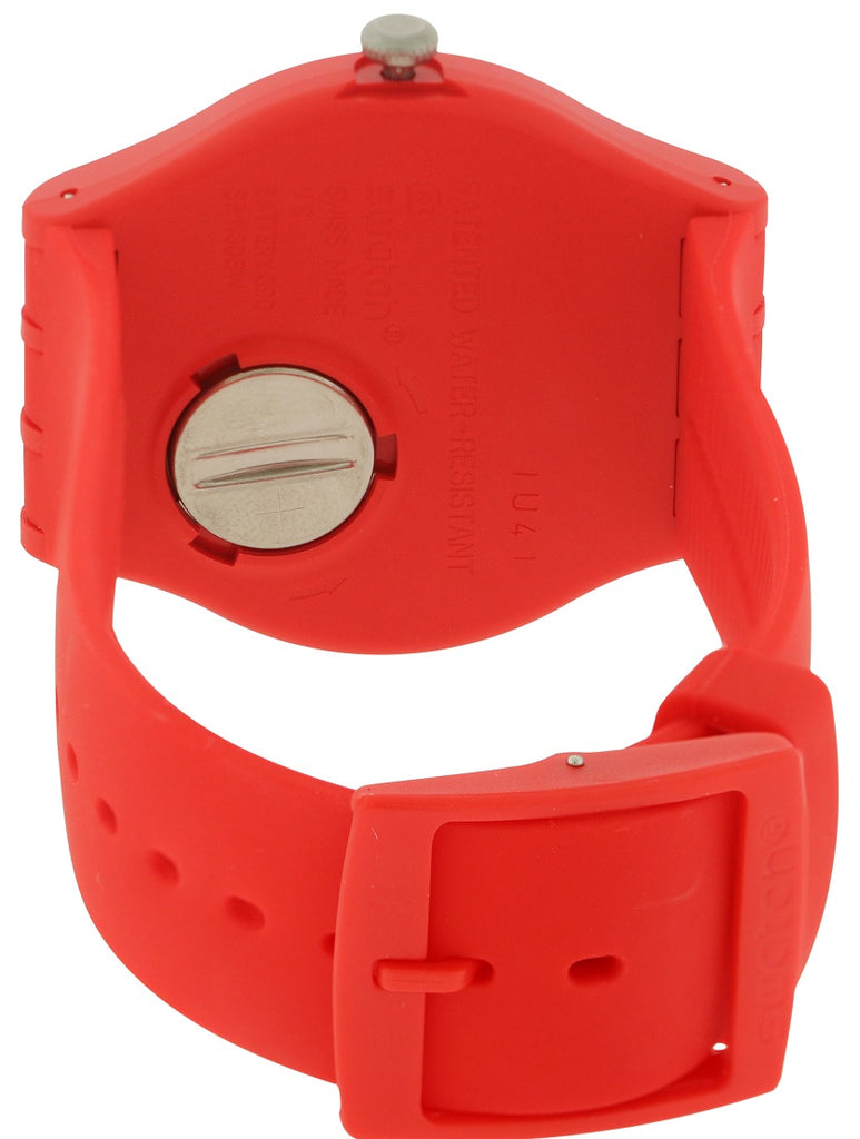 Swatch RED ME UP Mens Watch