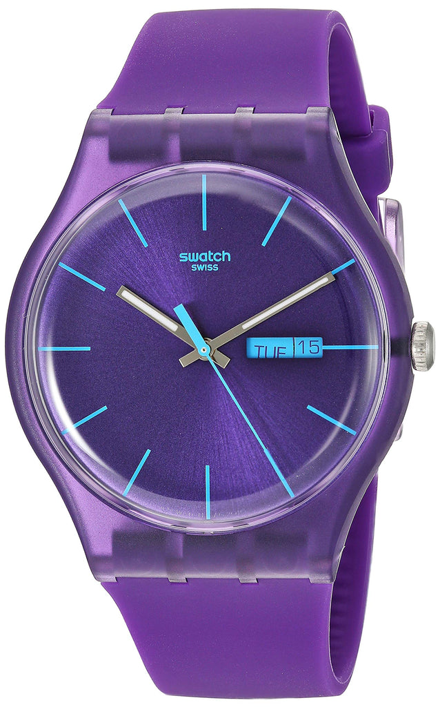 Swatch 'Purple Rebel' Watch