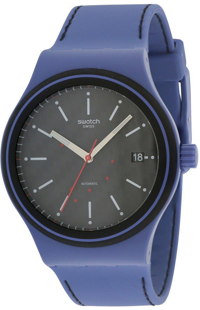 Swatch SISTEM AQUA Silicone Automatic Mens Watch