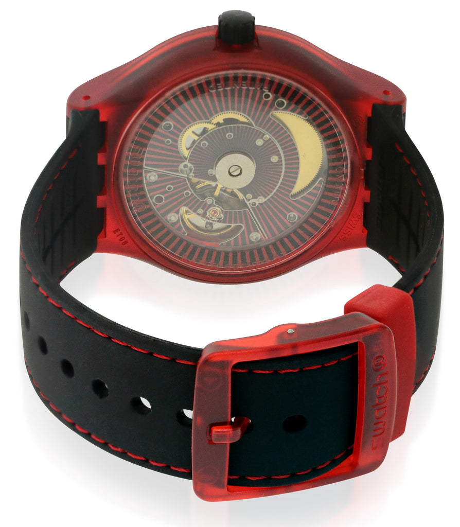 Swatch SISTEM RED Unisex Watch