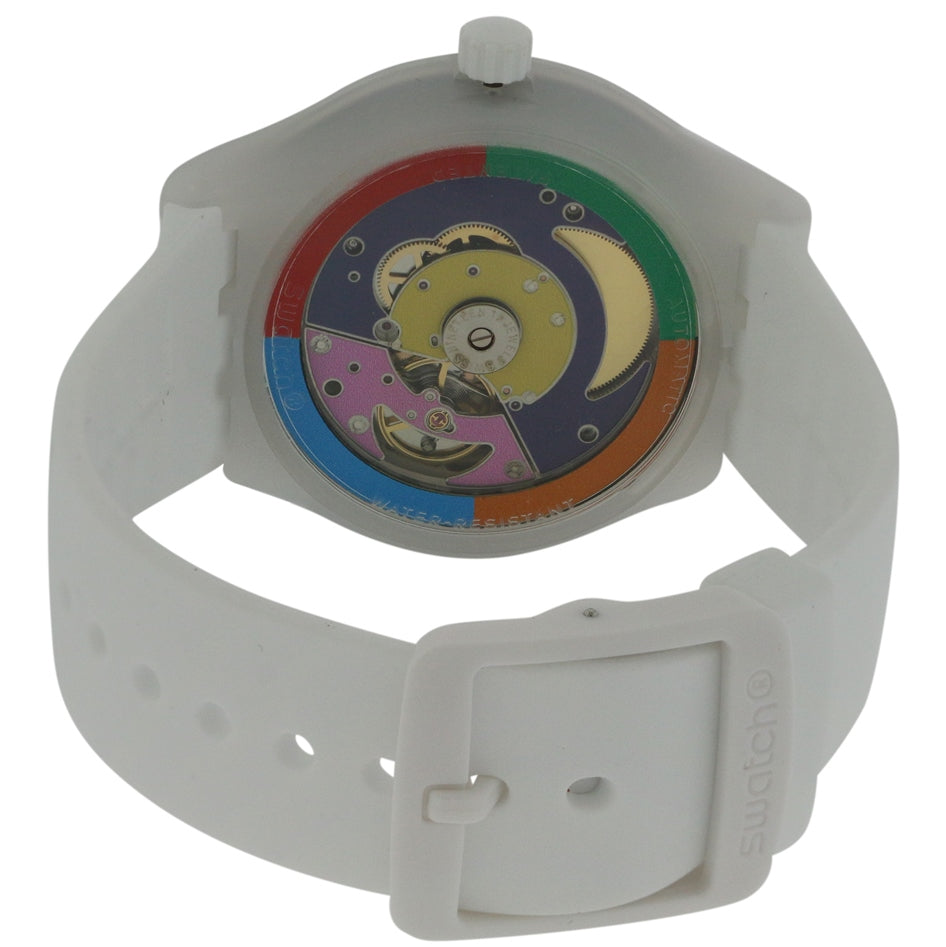 Swatch SISTEM WHITE Unisex Watch