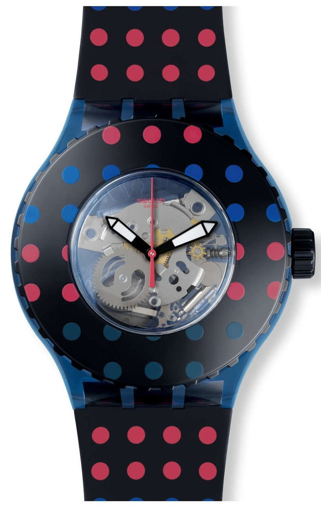 Swatch (Open Box) PUNTAMIBLU Ladies Watch SUUN100