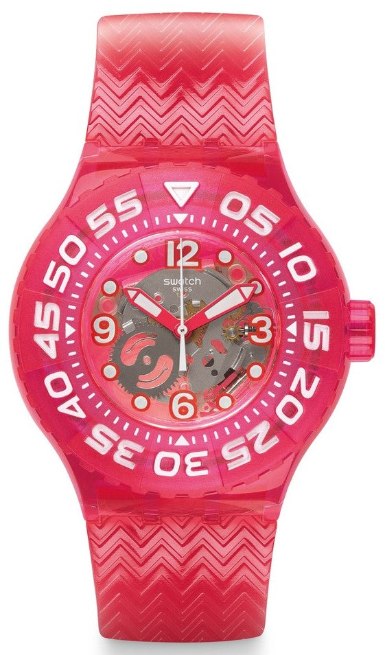 Swatch Deep Berry Ladies Watch