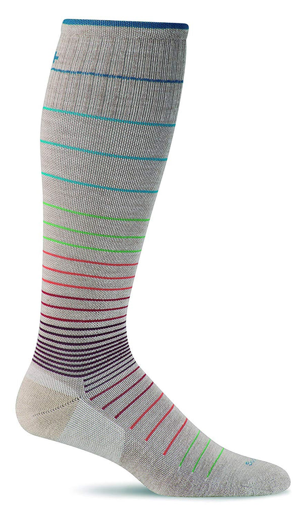 Sockwell Womens Circulator Graduated Compression Socks - Small/Medium - Barley