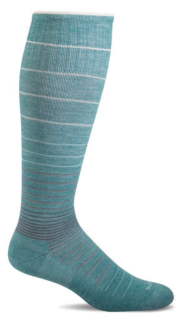 Sockwell Womens Circulator Graduated Compression Socks - Mineral - Medium/Large