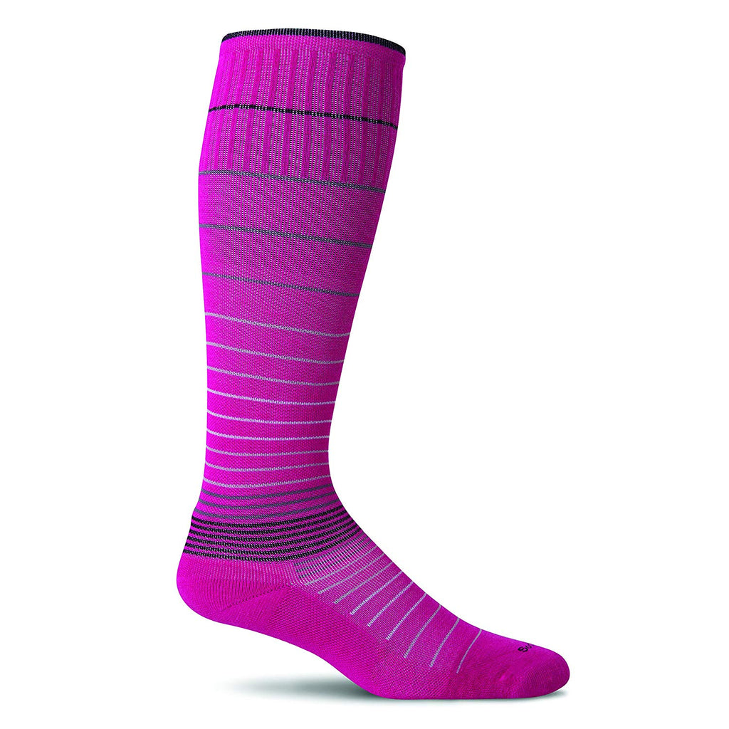 Sockwell Womens Circulator Graduated Compression Socks - Small/Medium - Azalea