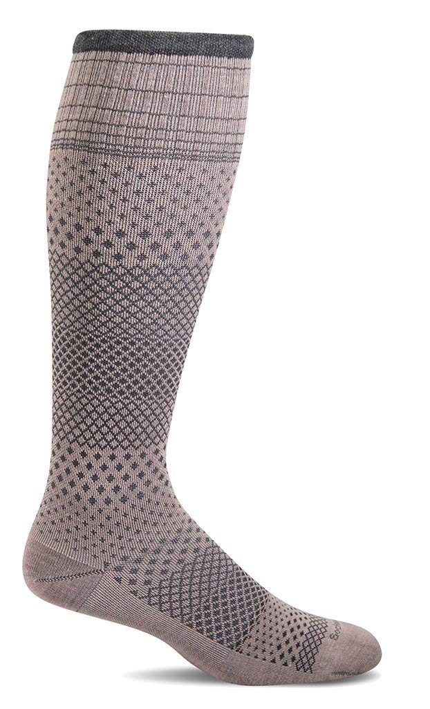 Sockwell Womens Micro Grade Graduated Compression Socks Rose - Medium/Large