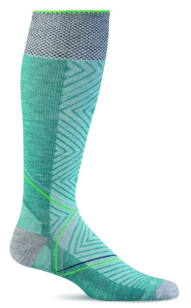 Sockwell Womens Pulse Graduated Compression Socks - Medium/Large - Mineral
