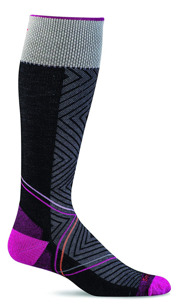 Sockwell Womens Pulse Graduated Compression Socks - Medium/Large - Black