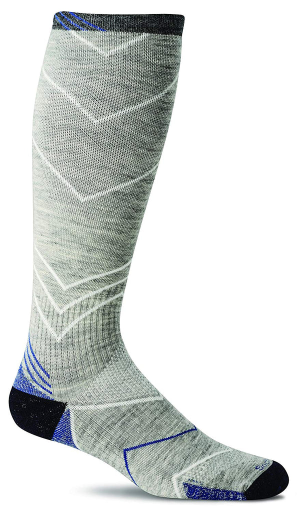 Sockwell Mens Incline Compression Socks - Light Grey - Large/X-Large