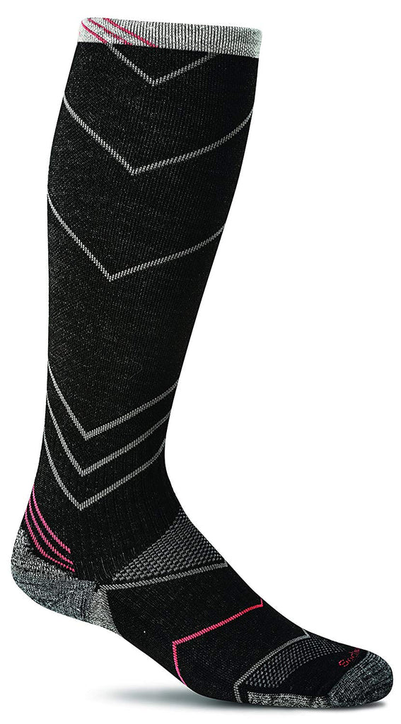 Sockwell Mens Incline Compression Socks - Black - Large/X-Large