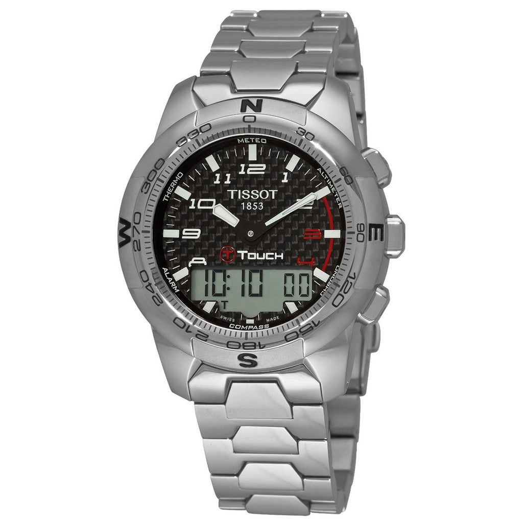 TISSOT T-TOUCH T-TACTILE TREKKER MENS WATCH