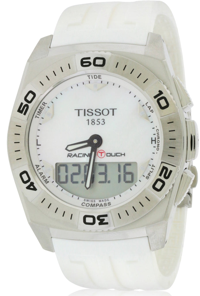 Tissot Racing Touch White Rubber Mens Watch