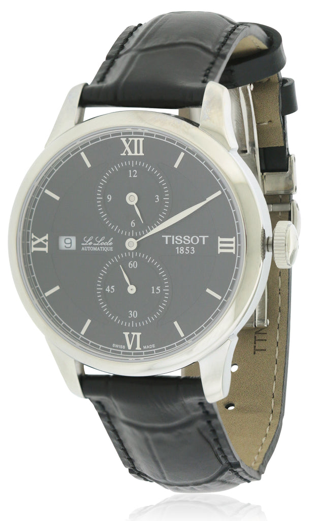 Tissot Le Locle Automatic Leather Mens Watch