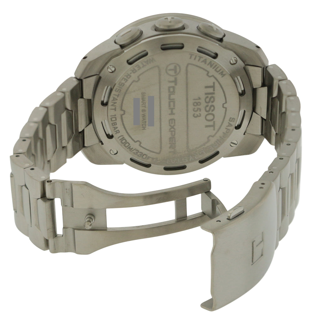 T-Touch Expert Pilot Titanium Mens Watch