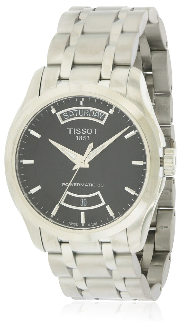 Tissot Couturier Powermatic 80 Stainless Steel Mens Watch