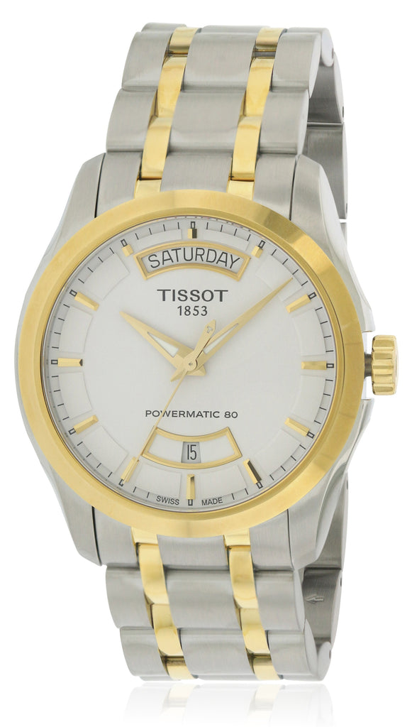 Tissot Couturier Powermatic 80 Two-tone Stainless Steel Mens Watch