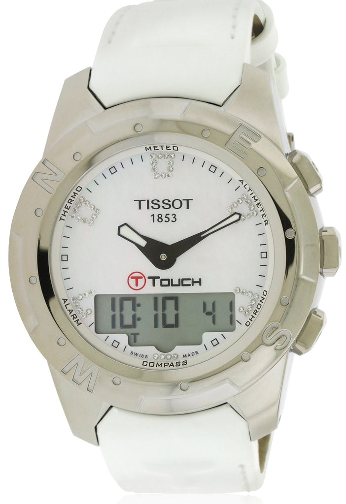 Tissot T-Touch II Multifunction Diamond Ladies Watch