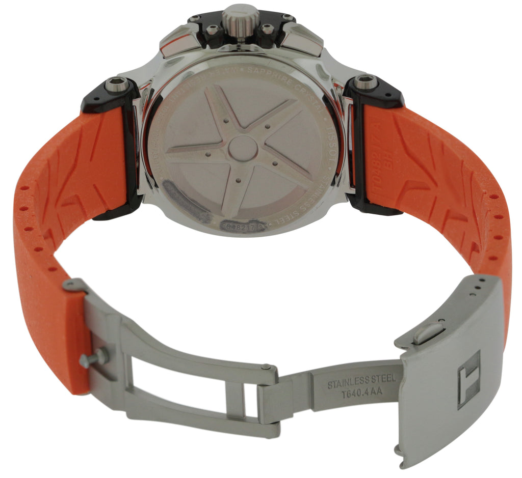 Tissot T-Race Chronograph Orange Ladies Watch
