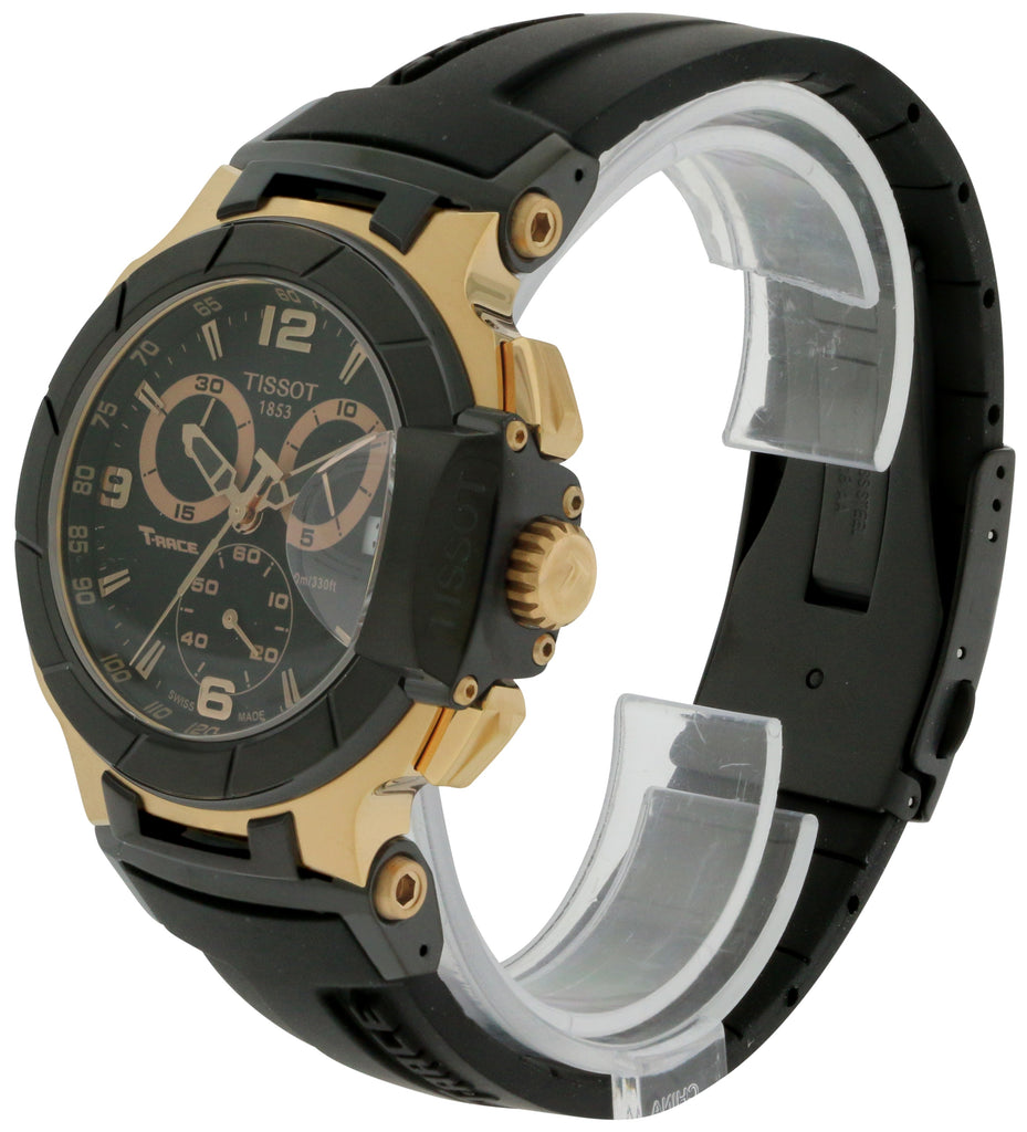 Tissot T-Race Rose Gold Chronograph Mens Watch