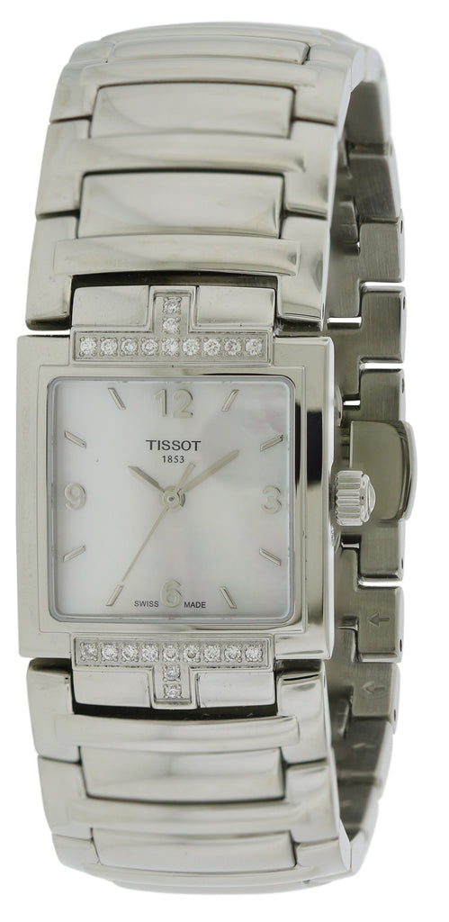 Tissot T-Evocation Stainless Steel Diamond Ladies Watch