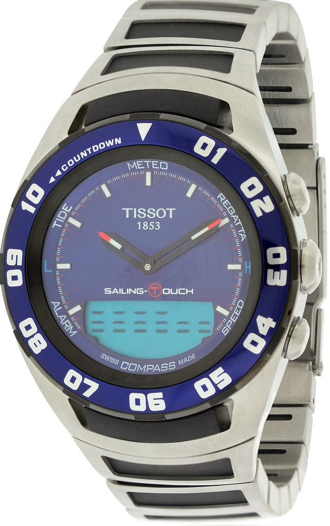 Tissot Sailing Touch Chronograph Stainless Mens Watch