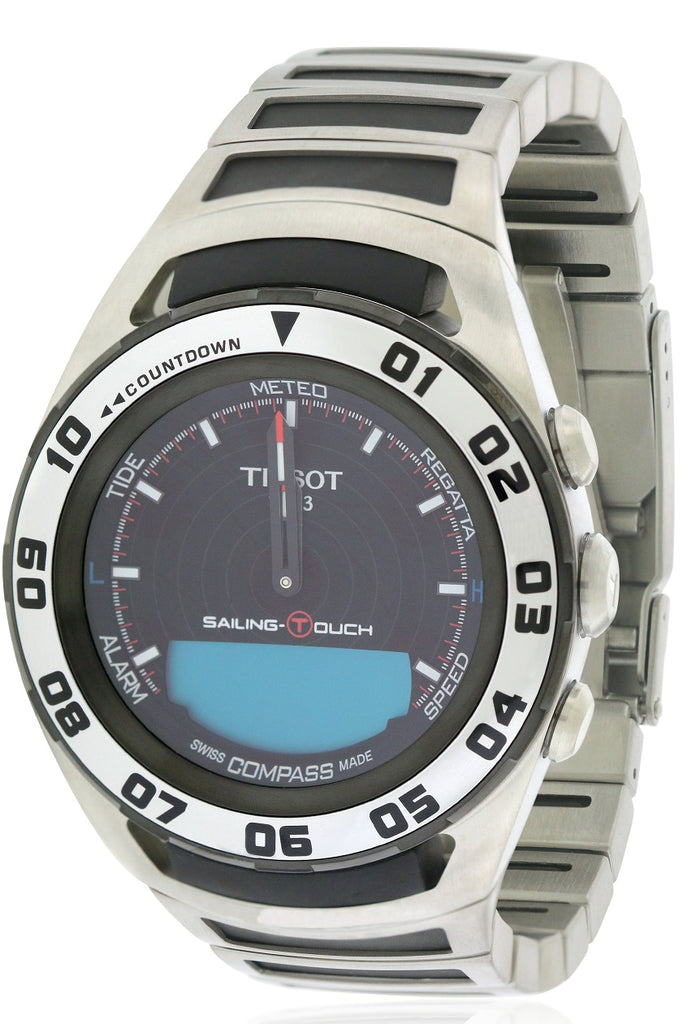 Tissot Sailing Touch Alarm Chronograph Mens Watch