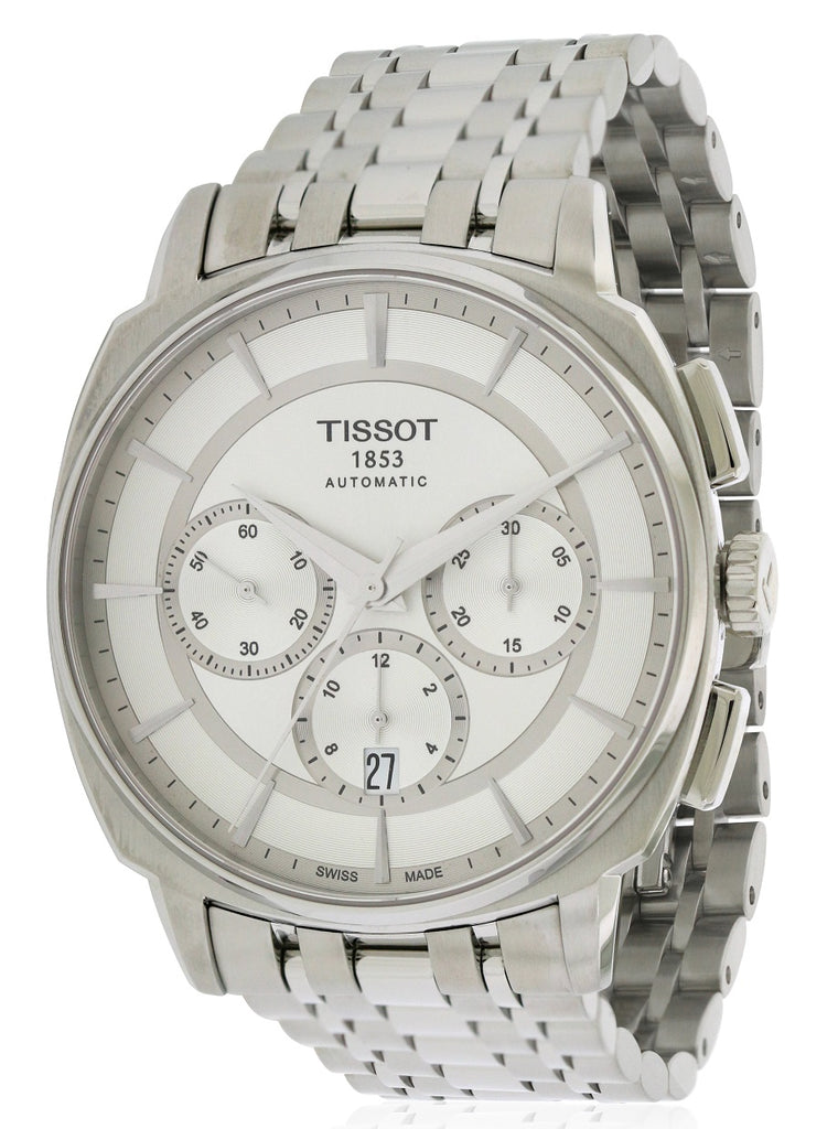 Tissot T-Lord Automatic Chronograph Stainless Steel Mens Watch