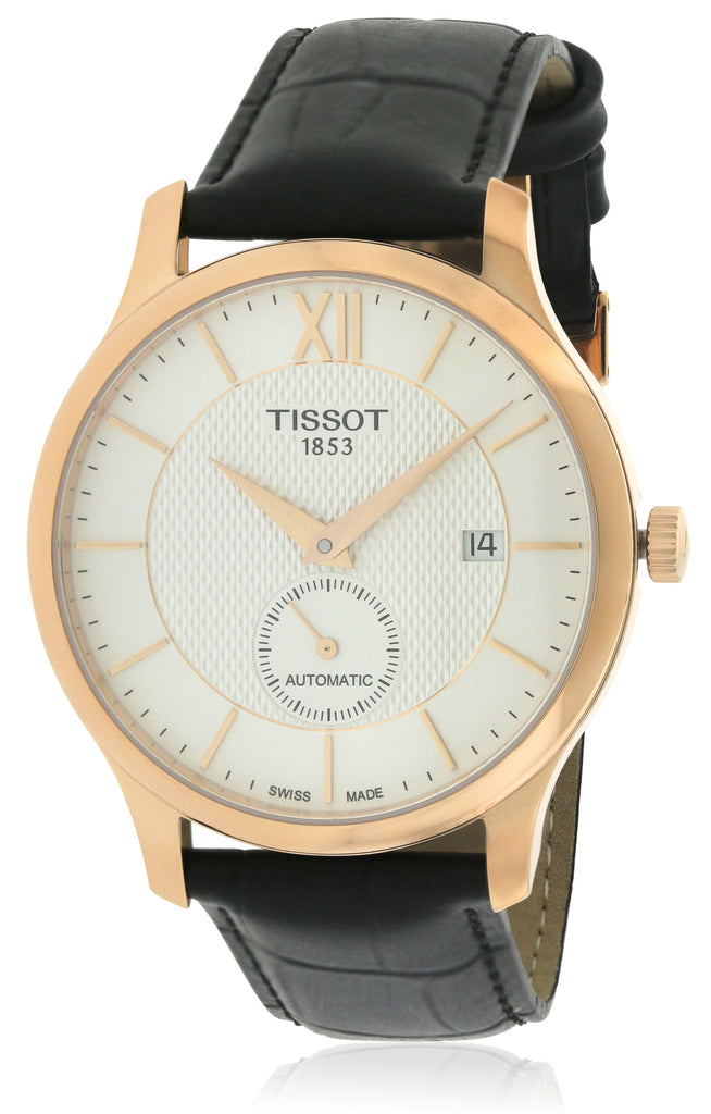 Tissot Tradition Automatic Leather Mens Watch