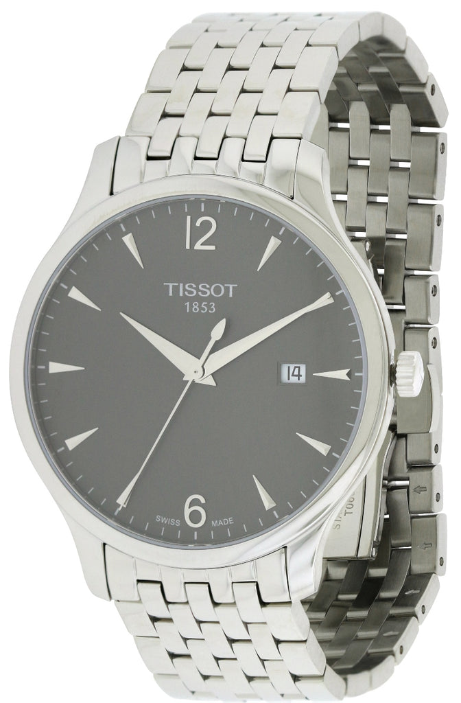 Tissot Tradition Anthracite Classic Mens Watch