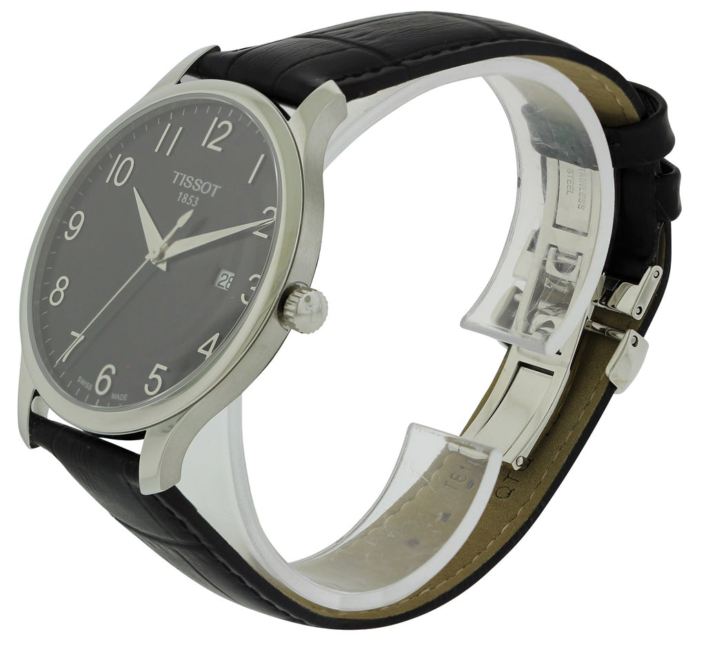 Tissot Tradition Leather Mens Watch