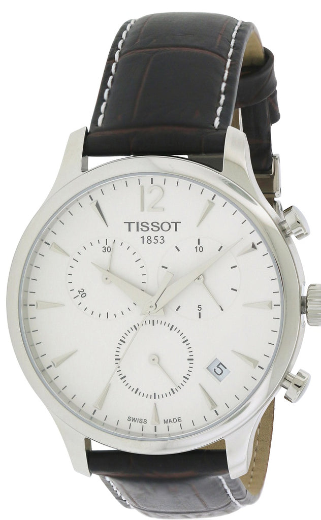 Tissot Tradition Leather Chronograph Mens Watch