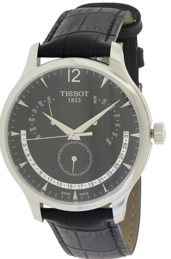 Tissot T-Classic Leather Mens Watch