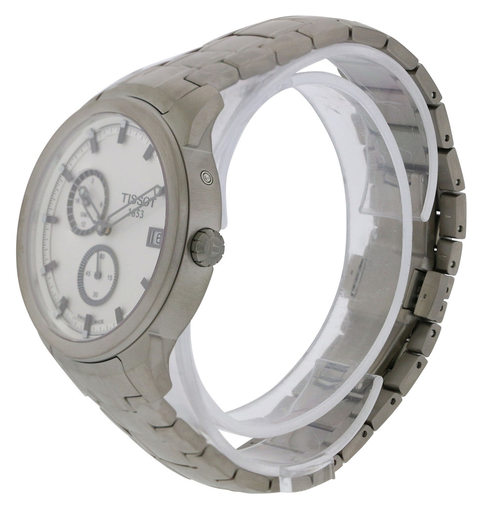 Tissot Titanium GMT Mens Watch