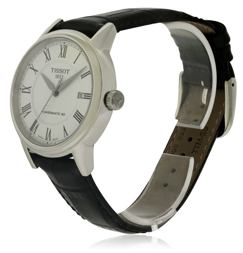 Tissot Carson Leather Automatic Mens Watch