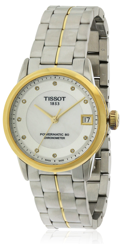 Tissot Powermatic 80 Two-tone Stainless Steel Ladies Watch