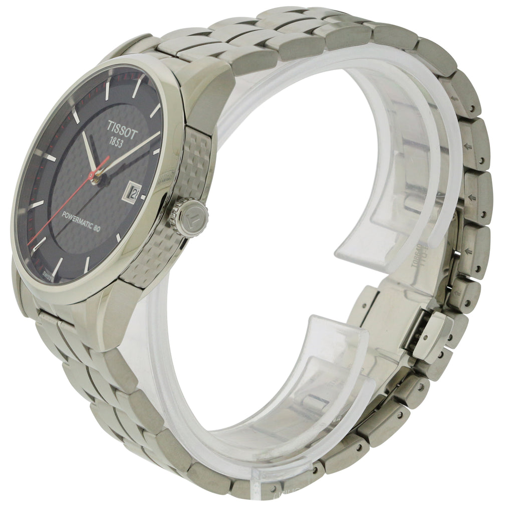 Tissot Powermatic 80 Stainless Steel Mens Watch