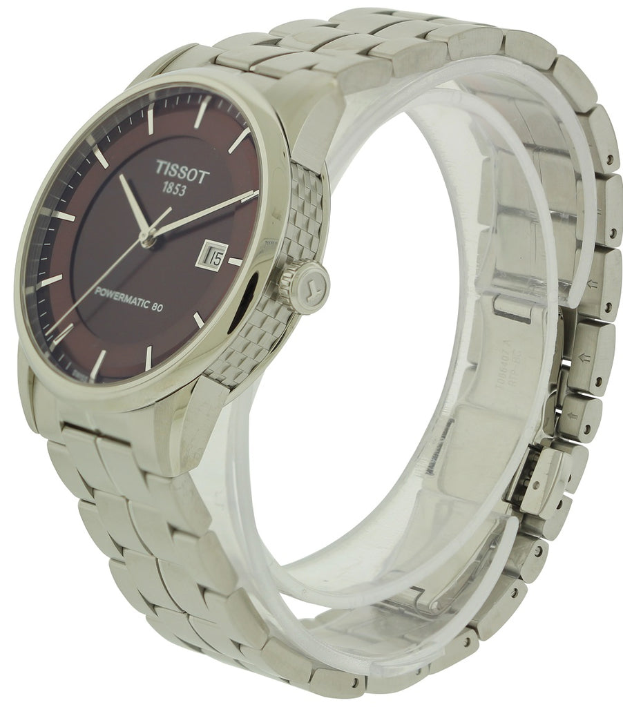 Tissot Luxury Automatic Stainless Steel Mens Watch