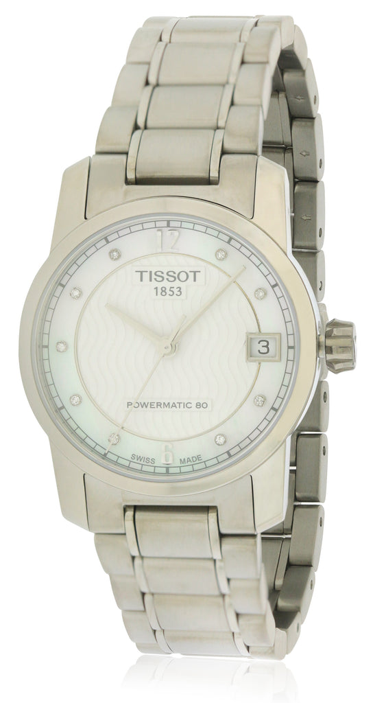Tissot T-Classic Automatic Titanium Ladies Watch