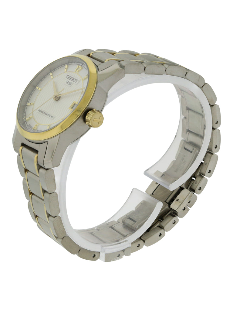 Tissot T-Classic Automatic Two-tone Titanium Ladies Watch