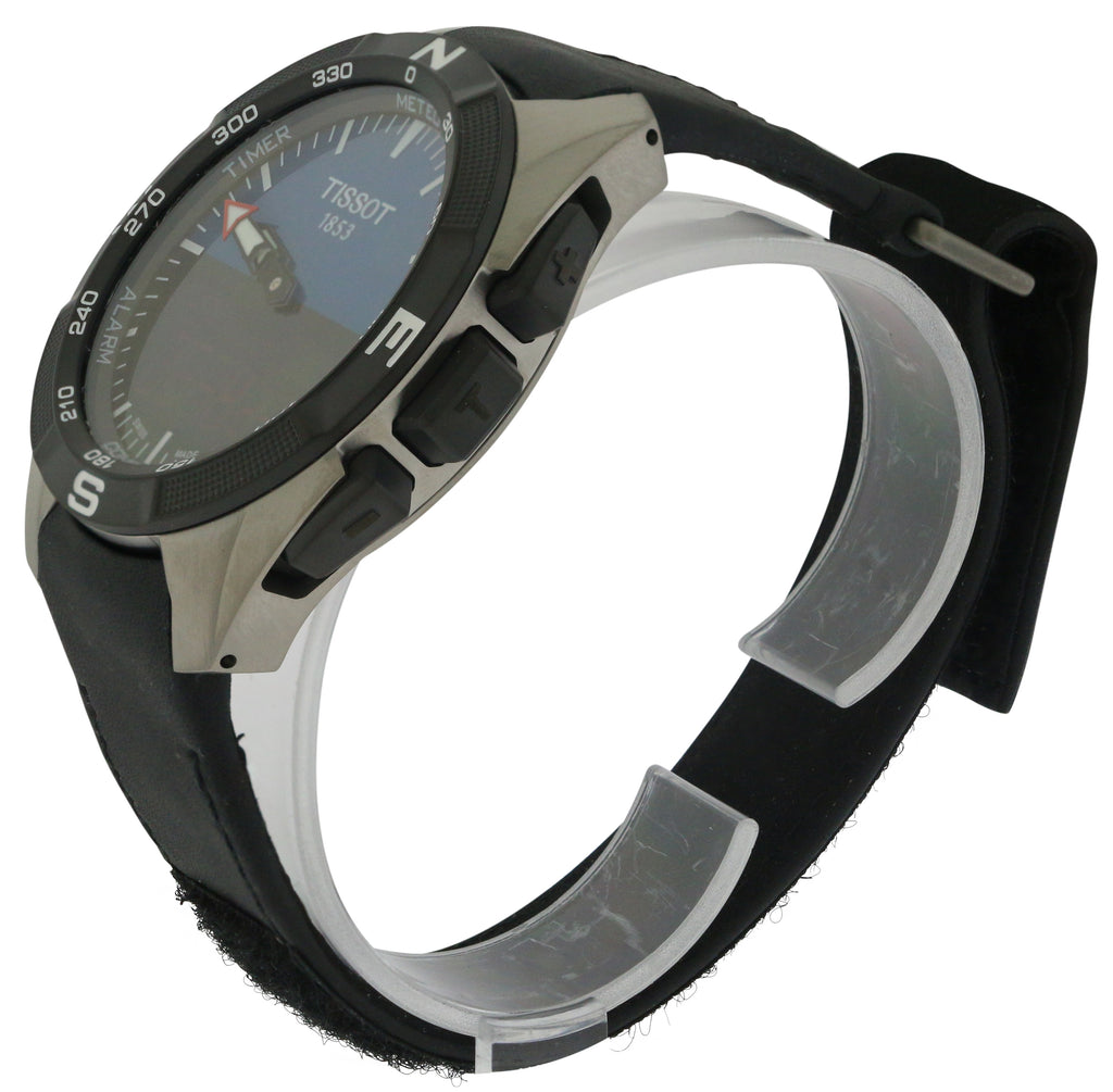 Tissot T-Touch Expert Solar Leather Mens Watch