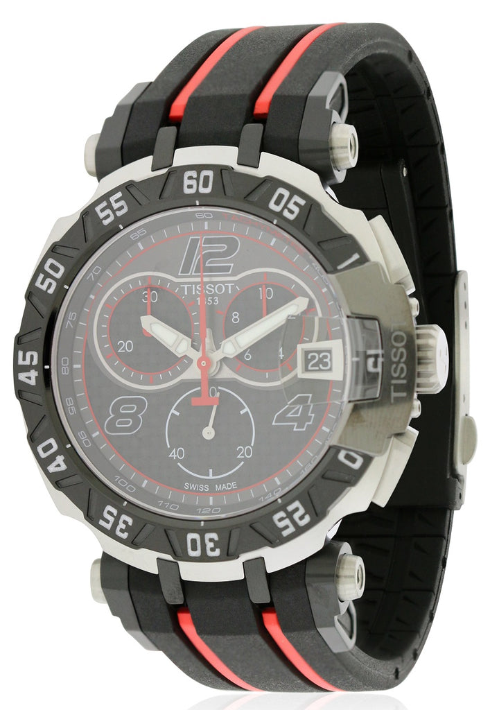 Tissot T-Race Moto GP Chronograph Rubber Mens Watch