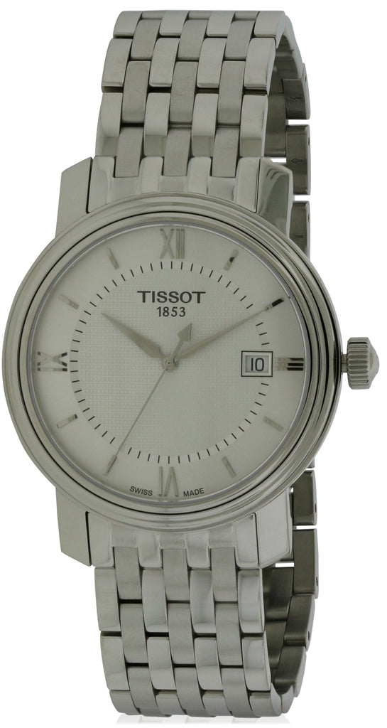 Tissot Bridgeport Stainless Steel Mens Watch