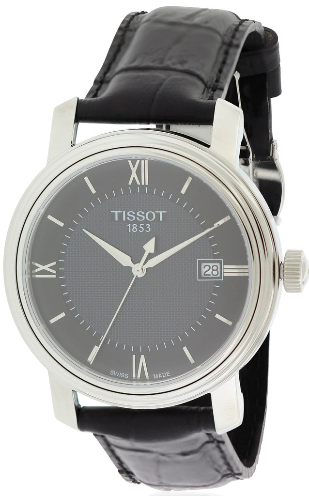Tissot Bridgeport Leather Mens Watch