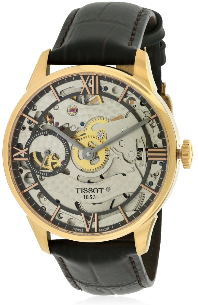 Tissot Chemin Des Tourelles Squelette Automatic Mens Watch