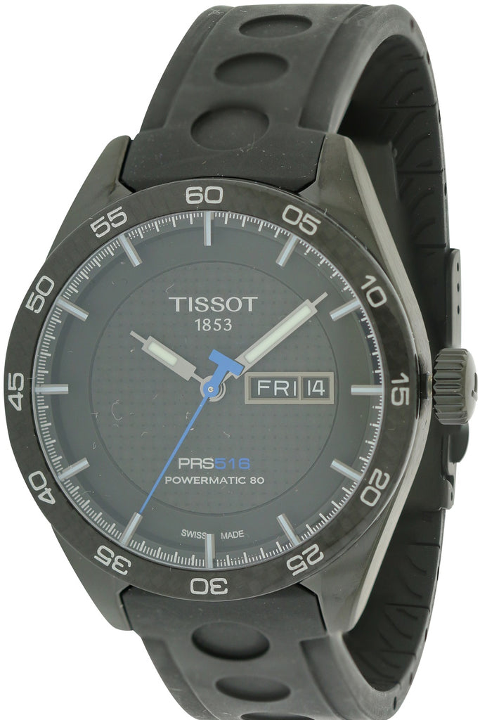 Tissot PRS 516 Automatic Rubber Mens Watch