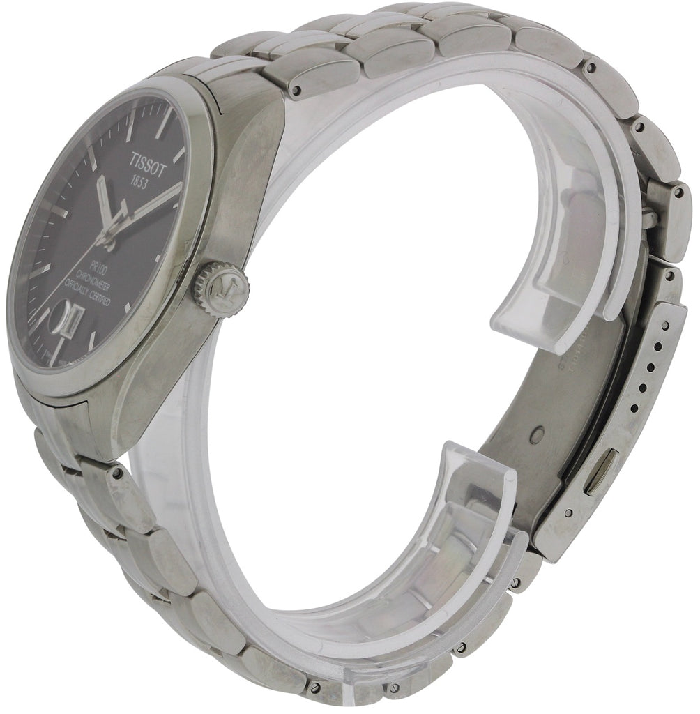 Tissot PR100 Automatic Stainless Steel Mens Watch